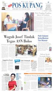 Pos Kupang Cover 11 June 2019