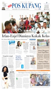 Pos Kupang Cover 13 June 2019