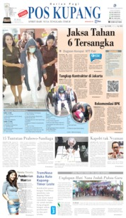 Pos Kupang Cover 14 June 2019