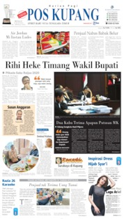 Pos Kupang Cover 23 June 2019