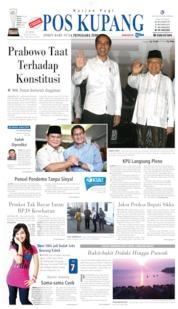 Cover Pos Kupang 28 Juni 2019