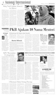 Cover Pos Kupang 07 Juli 2019