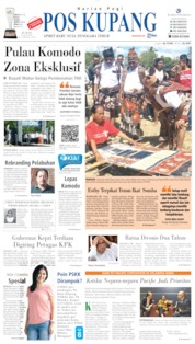 Cover Pos Kupang 12 Juli 2019