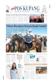 Cover Pos Kupang 13 Juli 2019