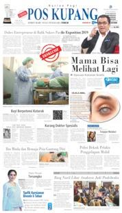 Cover Pos Kupang 16 Juli 2019