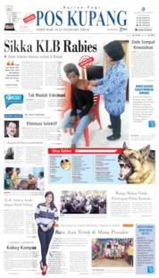 Cover Pos Kupang 18 Juli 2019