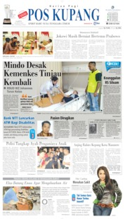 Pos Kupang Cover 20 July 2019