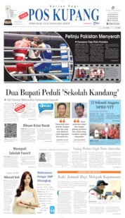 Pos Kupang Cover 23 July 2019