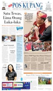 Cover Pos Kupang 09 Agustus 2019