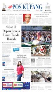 Cover Pos Kupang 12 Agustus 2019