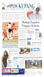 Cover Pos Kupang 13 Agustus 2019