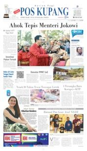 Cover Pos Kupang 14 Agustus 2019