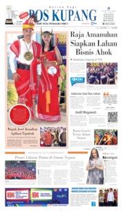Cover Pos Kupang 15 Agustus 2019