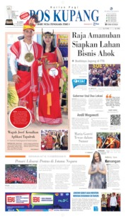 Pos Kupang Cover 16 August 2019