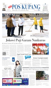 Pos Kupang Cover 22 August 2019