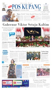 Pos Kupang Cover 27 August 2019