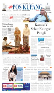 Pos Kupang Cover 29 August 2019
