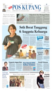 Pos Kupang Cover 03 September 2019