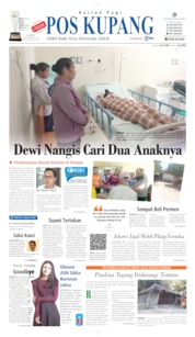 Pos Kupang Cover 07 September 2019
