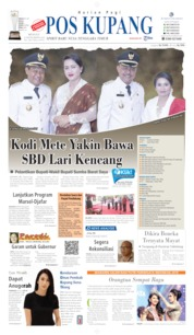 Pos Kupang Cover 08 September 2019