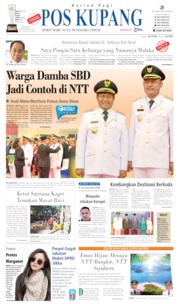 Pos Kupang Cover 09 September 2019