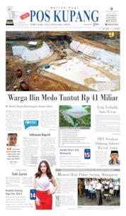 Cover Pos Kupang 10 September 2019