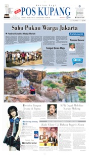 Cover Pos Kupang 11 September 2019