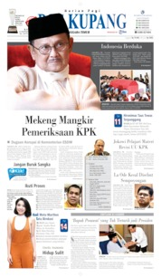 Cover Pos Kupang 12 September 2019