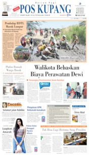 Cover Pos Kupang 15 September 2019