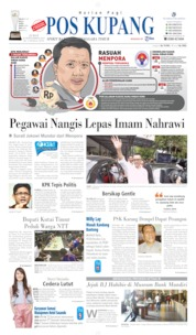 Pos Kupang Cover 20 September 2019
