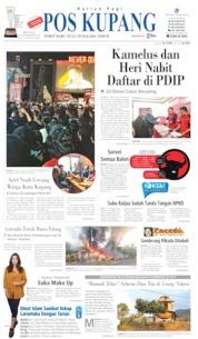 Pos Kupang Cover 22 September 2019