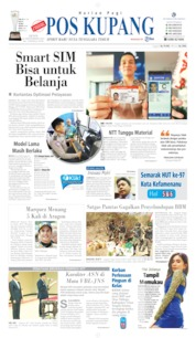 Cover Pos Kupang 23 September 2019
