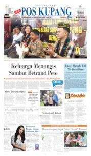 Cover Pos Kupang 06 Oktober 2019
