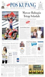 Cover Pos Kupang 07 Oktober 2019