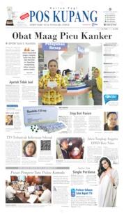 Pos Kupang Cover 08 October 2019