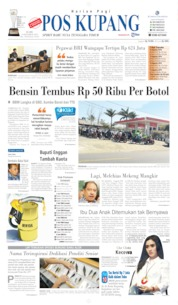 Pos Kupang Cover 09 October 2019