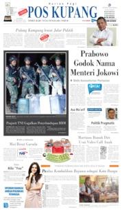 Pos Kupang Cover 10 October 2019