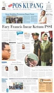 Pos Kupang Cover 13 October 2019