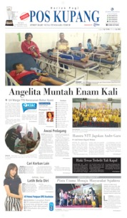 Pos Kupang Cover 14 October 2019
