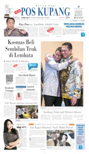 Pos Kupang Cover 15 October 2019