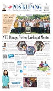 Cover Pos Kupang 19 Oktober 2019