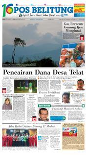 Cover Pos Belitung 23 Maret 2018