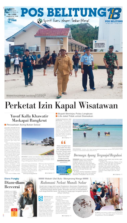 Pos Belitung Digital Newspaper 12 June 2019