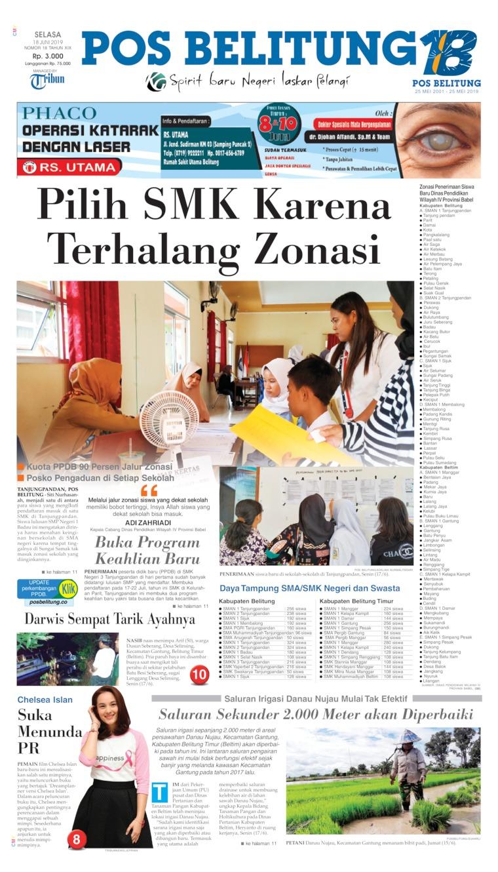 Koran Digital Pos Belitung 18 Juni 2019