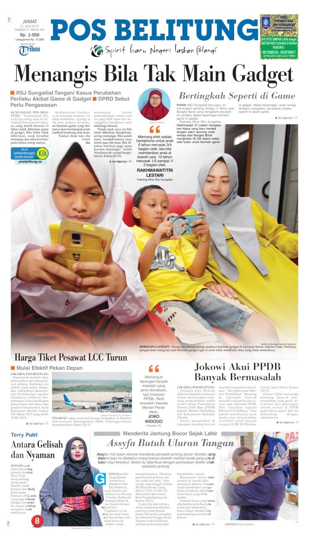 Koran Digital Pos Belitung 21 Juni 2019