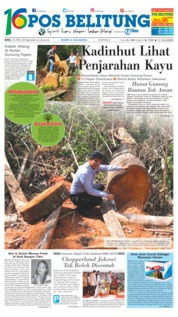 Cover Pos Belitung 23 April 2018