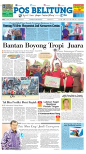 Cover Pos Belitung 25 April 2018