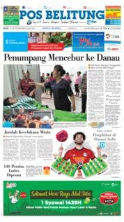 Cover Pos Belitung 19 Juni 2018