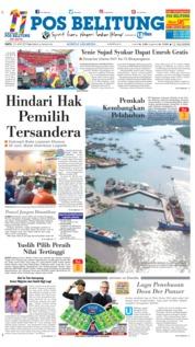 Cover Pos Belitung 23 Juni 2018