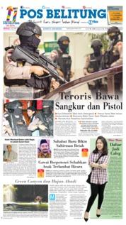 Cover Pos Belitung 24 Juni 2018